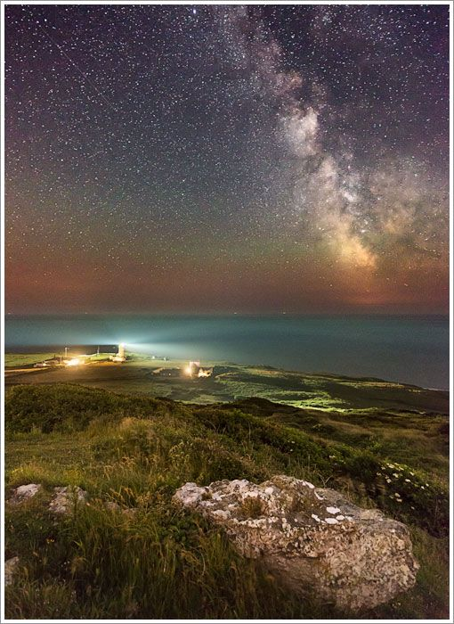 The Milky Way, St Catherine's Lighthouse, Isle of Wight, England, UK