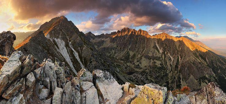 High Tatras - High Tatras from peak Solisko