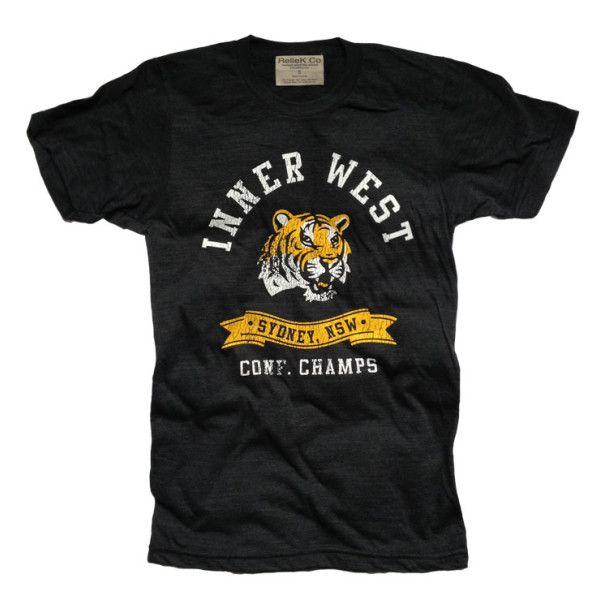 Inner west tiger vintage t-shirt