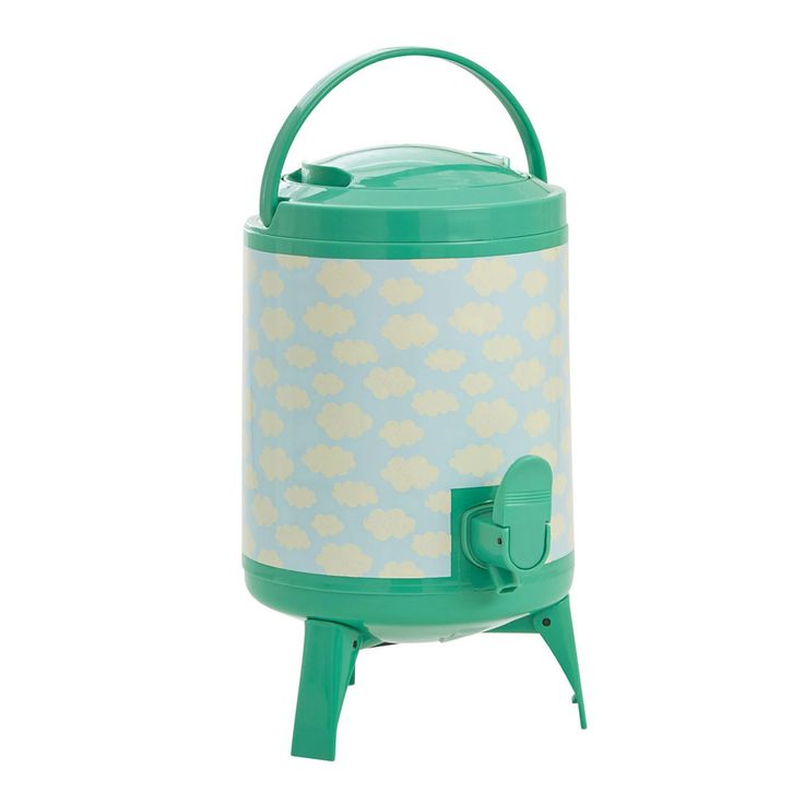 RICE Sky 4L Cooler Tank, Green/Blue