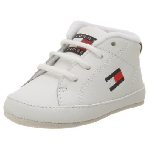 d60ead7baf5ff6 Tommy Hilfiger Infant Toddler Flag Crib Shoe