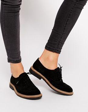 Agrandir ASOS - MIRACLE - Chaussures plates en cuir