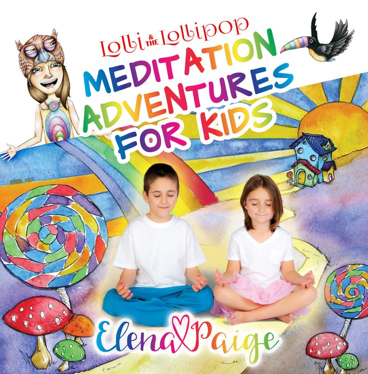 The AUDIO version of the meditations are recorded to fun, uniquely composed and inspiring music for kids.