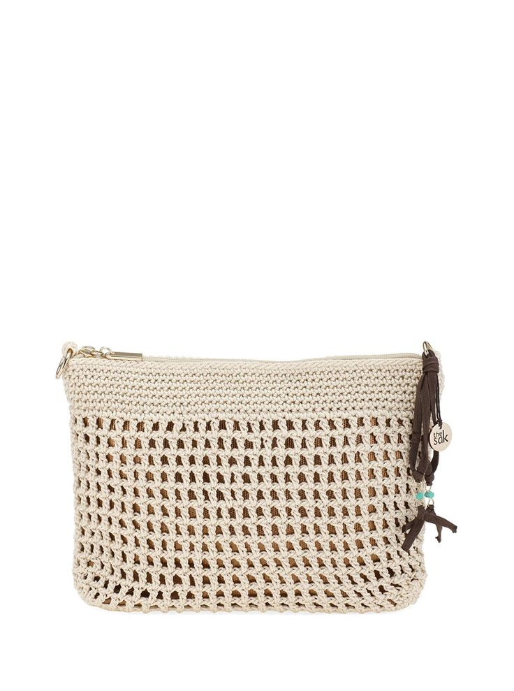3-In-1 crochet clutch bag