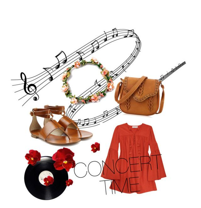 """""""Concert time"""" by chrysapan on Polyvore featuring Rachel Zoe and Michael Kors"""