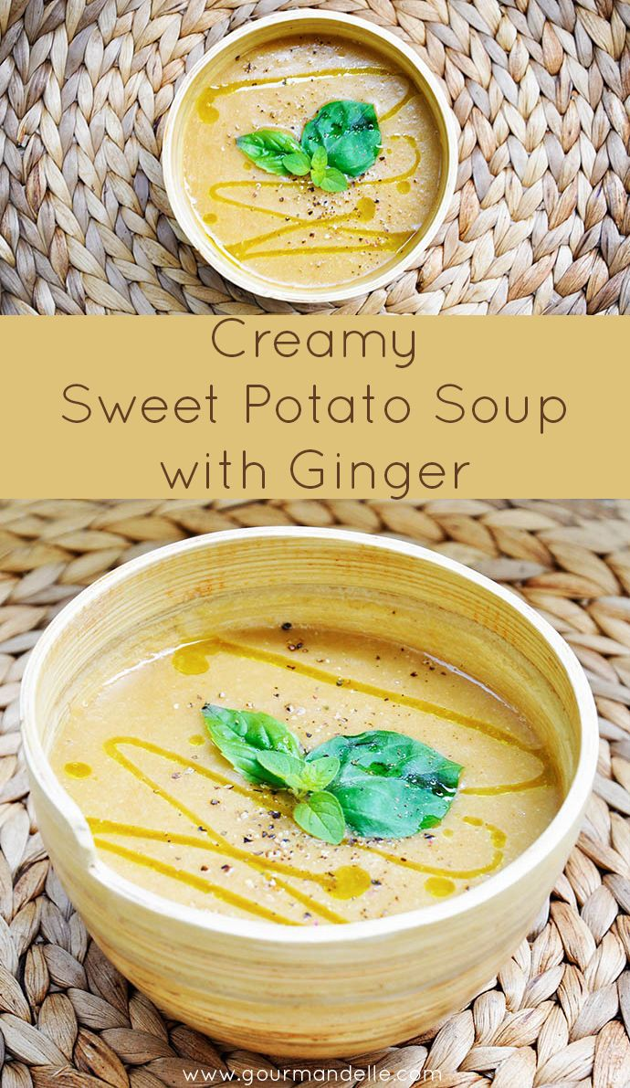 Sweet Potato Soup on Pinterest | Soups, Potato Soup and Soup Recipes ...