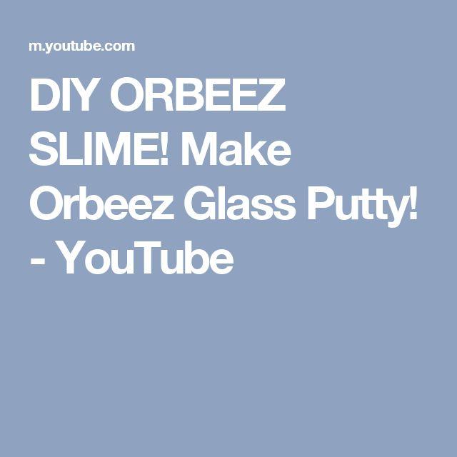 DIY ORBEEZ SLIME! Make Orbeez Glass Putty! YouTube