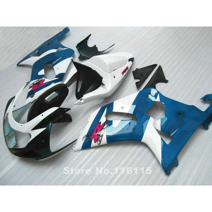 330.28$  Watch here - http://aie5k.worlditems.win/all/product.php?id=32609832444 - Fairings set for SUZUKI GSXR600 GSXR750 K1 2001 2002 2003 GSXR 600 750 01 02 03 blue black white fairing kit R830