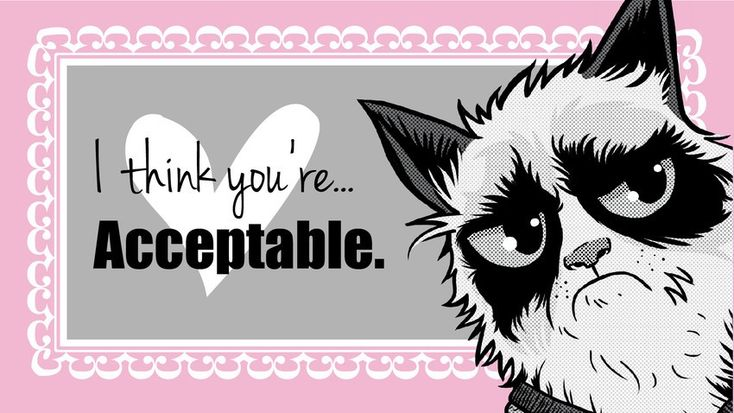 18 Grumpy Cat Valentines for Your Crabby Companion – Hate Valentines Day Cards