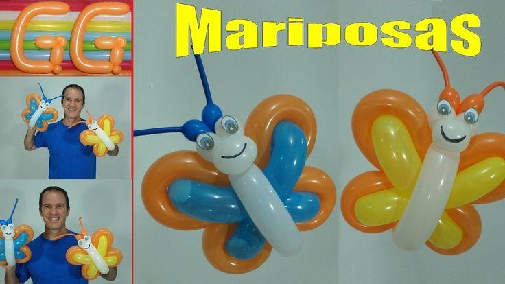132 best globoflexia y decoracion con globos images on - Como hacer figuras con globos ...
