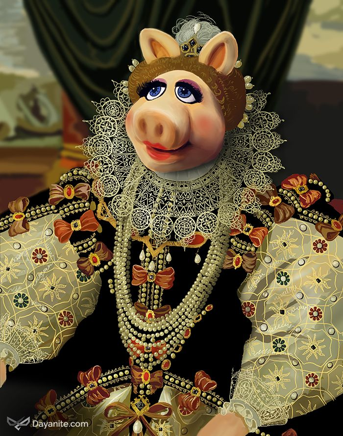 Queen Piggy I http://dayanite.com/