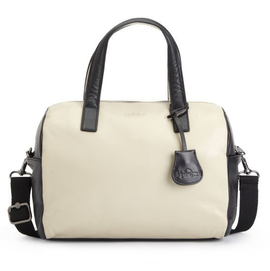 """Beonica Handbag -We love this bag for work. With an adjustable shoulder strap and optional carry handles, it looks sleek toting around anything from file folders to your tablet. Dimensions: 14.25"""" x 9.5"""" x 6.5"""" Weight: 1.24 lbs #Kipling"""