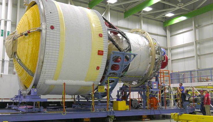The interim cryogenic propulsion stage (ICPS) for the first flight of NASA's Space Launch System