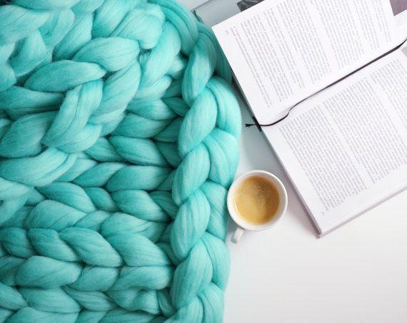 DIY braccio maglieria lana merino. 3 pollici di punto.