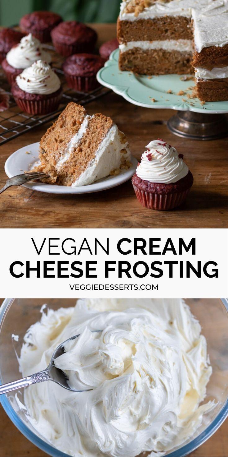 Easy Tangy Vegan Cream Cheese Frosting Recipe In 2020 Vegan Cream Cheese Vegan Cream Cheese Frosting Dessert Recipes Easy