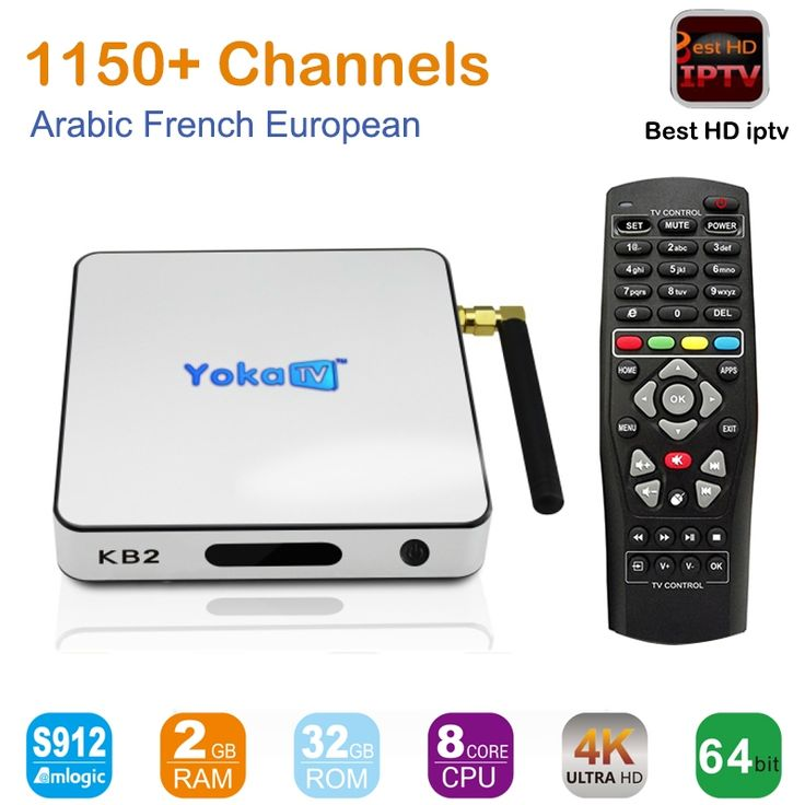 151.82$  Watch here - http://ali1hn.worldwells.pw/go.php?t=32739209046 - New KB2 Amlogic S912 KODI Android 6.0 Arabic French IPTV box 1150+ IP TV Box, Live Stream Sports IPTV Media Set-top Box Streamer