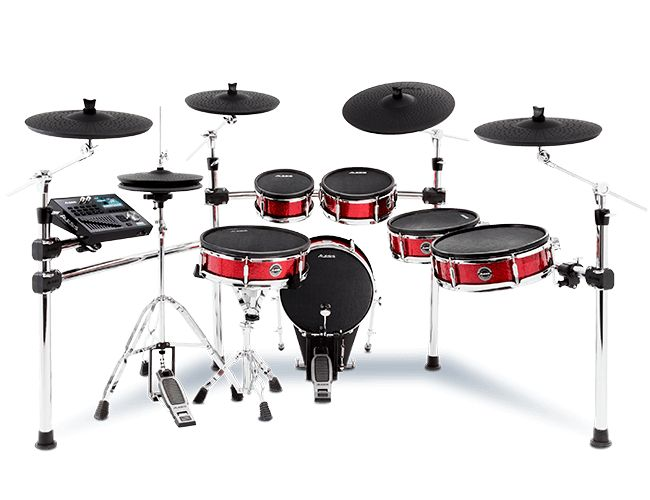 Win 1 of 3 Stunning New Alesis Drum SetsFEATURING THE STRIKE PRO, NITRO, AND COMMAND KITS.