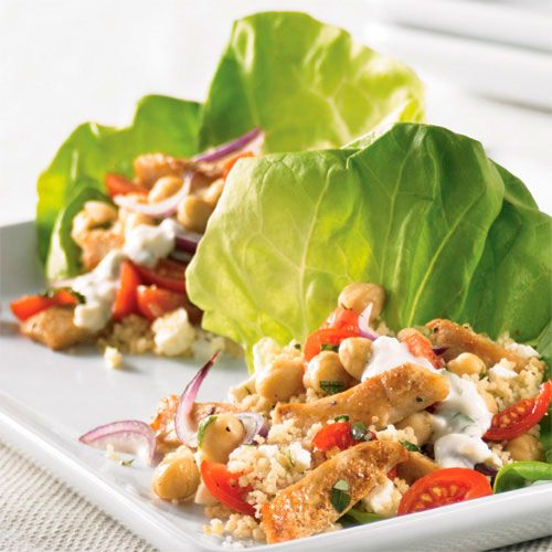 Mediterranean Lettuce Wraps - The Pampered Chef®