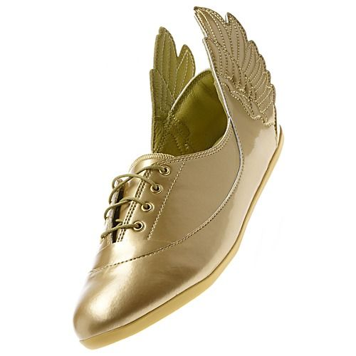 - Adidas Jeremy Scott Wings Easy Five Gold Mirror Shoes