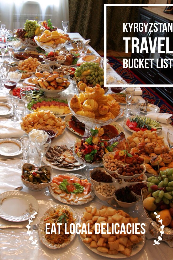 Try out many different Central Asian products and meals on your tours to Central Asia. Kyrgyzstan Travel Bucket List: Explore Central Asia with Kalpak Travel