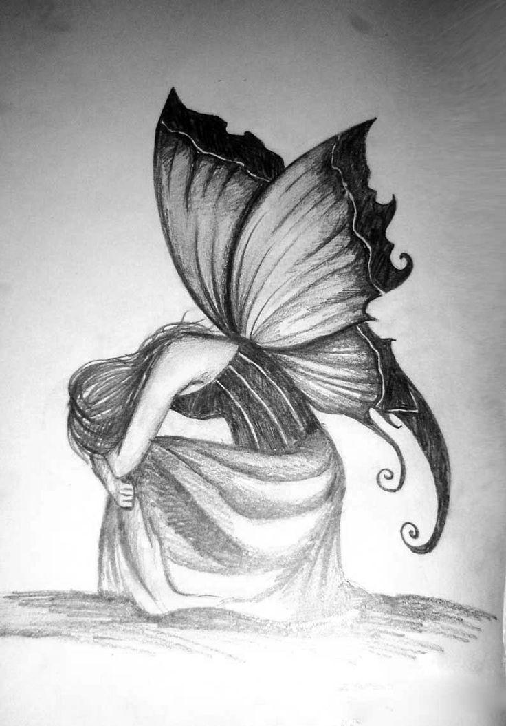 drawings of dark fairies - Google Search