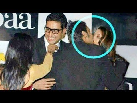 nice Aishwarya Rai Bachchan Kissing Ajay Devgan!