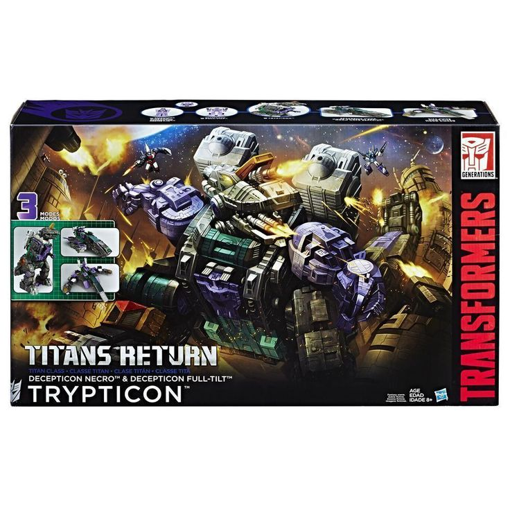 Steal of a Deal: 50% off Transformers Titans Return Trypticon!