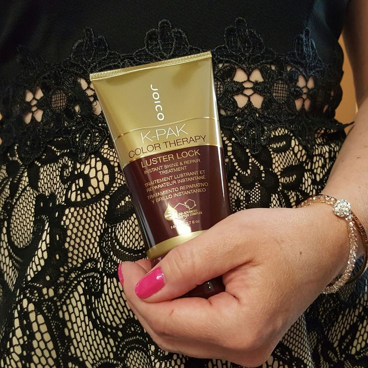 """@hairtips    Joico Luster Lock   This morning, did you find yourself looking at your reflection and yourdry tresses, wondering where the shineand vibrancy of your color went? Did the thought """"I wonder if I could pull off a…"""