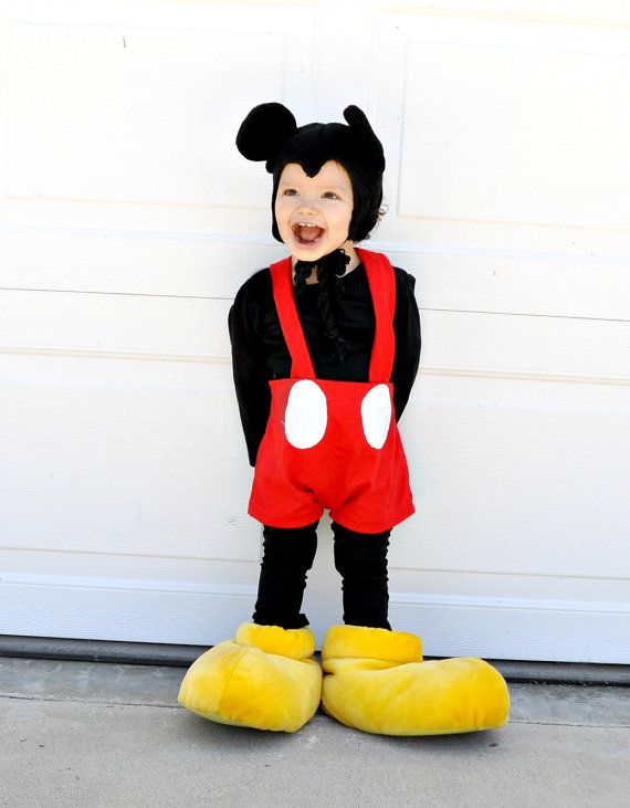 Mickey mouse inspired costume Set boys babies kids childrens toddler infants halloween costumes school event.. $129.00, via Etsy.