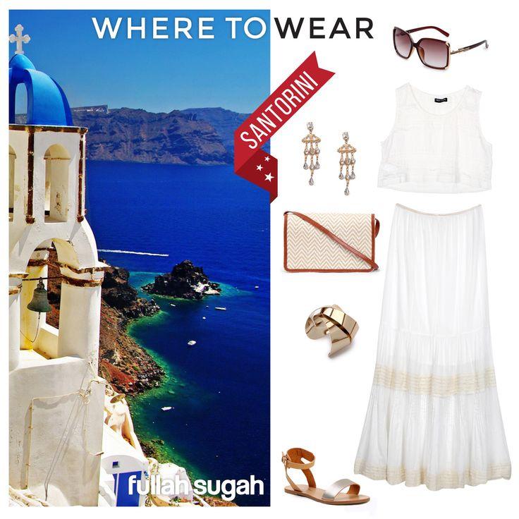 FULLAHSUGAH & Έτοιμη για... Σαντορίνη!!!  #fashion #sales #dresses #sandals #summer_look #trends #style
