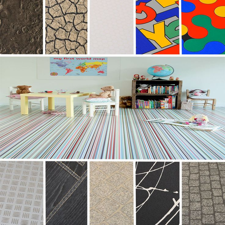 Details about High Quality Vinyl Flooring Funky Designs