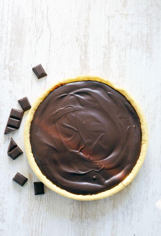 Tarte au chocolat - Recipes for Cook Processor Kitchenaid #CookProcessor