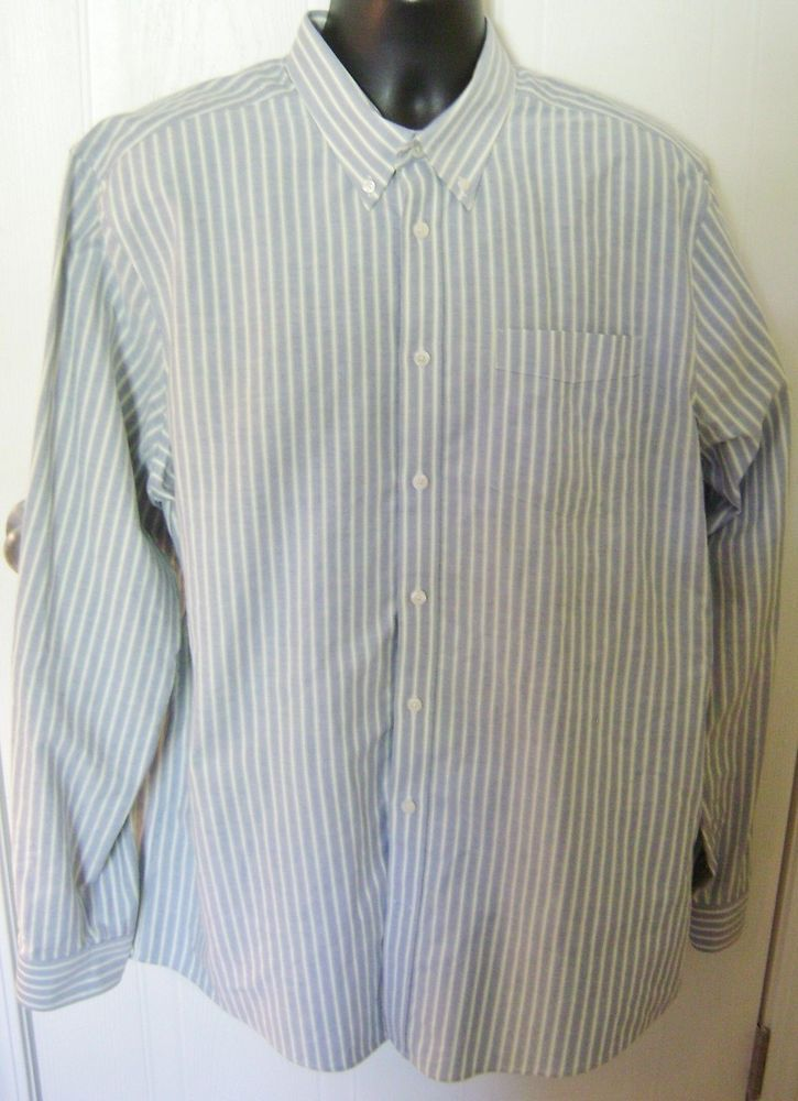Details about Eddie Bauer Men's Shirt Tall XL Large Wrinkle