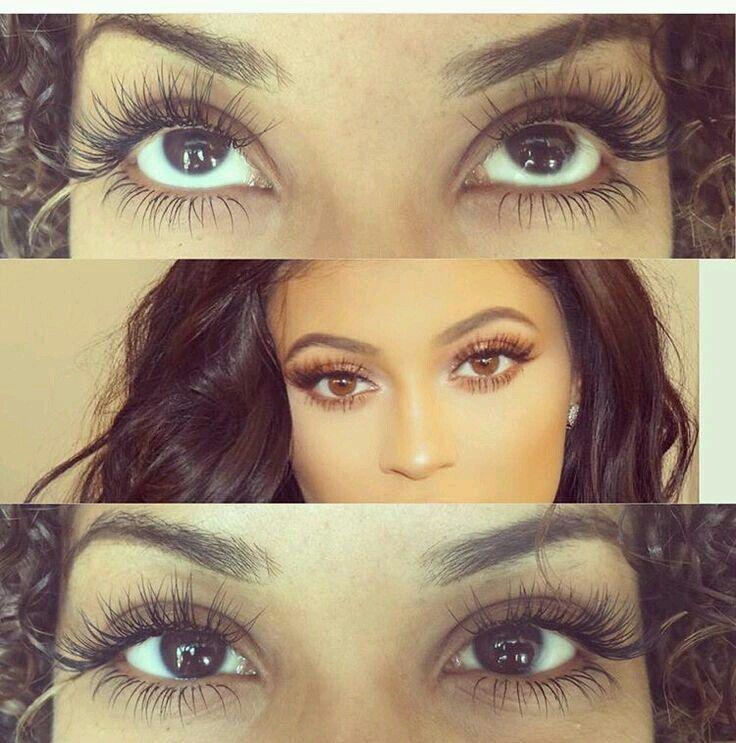 Pinterest//@Rollody   Eyelash extensions styles, Eyelash ...