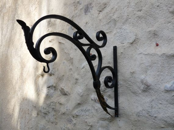 Art Deco Hanging Basket Brackets : Ideas about hanging basket brackets on