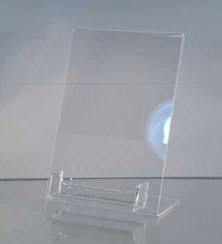 5 x 7 acrylic frame wbusiness card holder built in a great