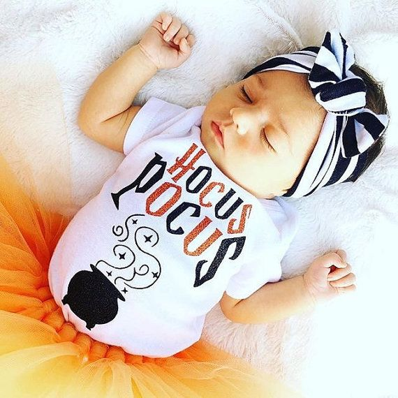 Hocus pocus halloween outfit for babies! AWE