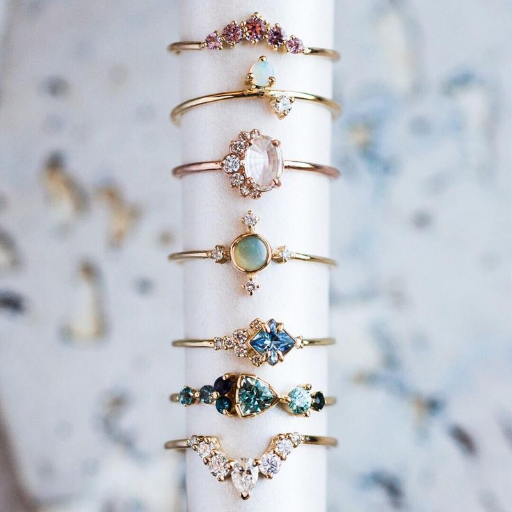 Just a few of our favorite (and almost sold out) fine jewelry rings. Shop modern…