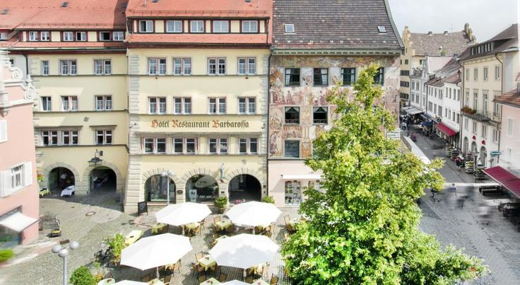Hotel Barbarossa Konstanz This hotel is centrally located in the lovely Old Town of the university town of Konstanz, which lies on the west shore of Lake Constance, right on the Swiss border.