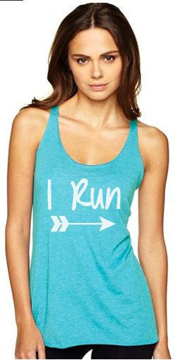 Running tank top for women's  running tops for by runningonthewall-surprise your gorgeous girlfriend  #giftsforrunners