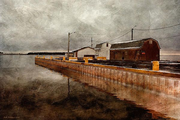 Pier 3. Photo art by WB Johnston, available as prints in a large variety of sizes.