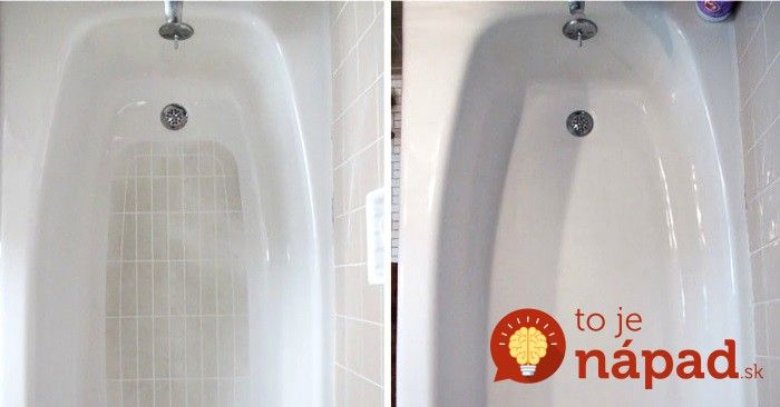 Máme pre vás úplne jednoduché a skutočne bleskové triky, ktoré vám pomôžu s jednou z najmenej obľúbených domácich prác – s čistením špinavej vane!