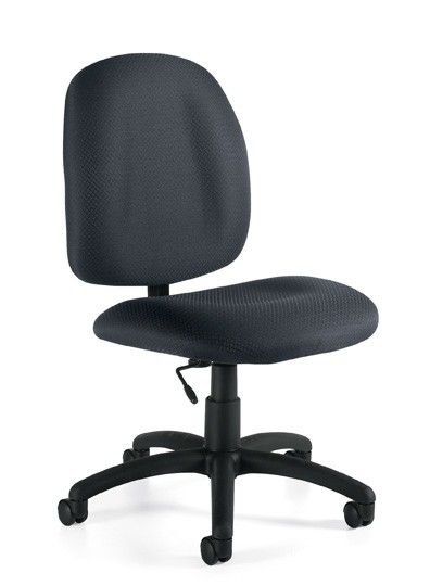offices to go cheap armless computer task chair 5 star base