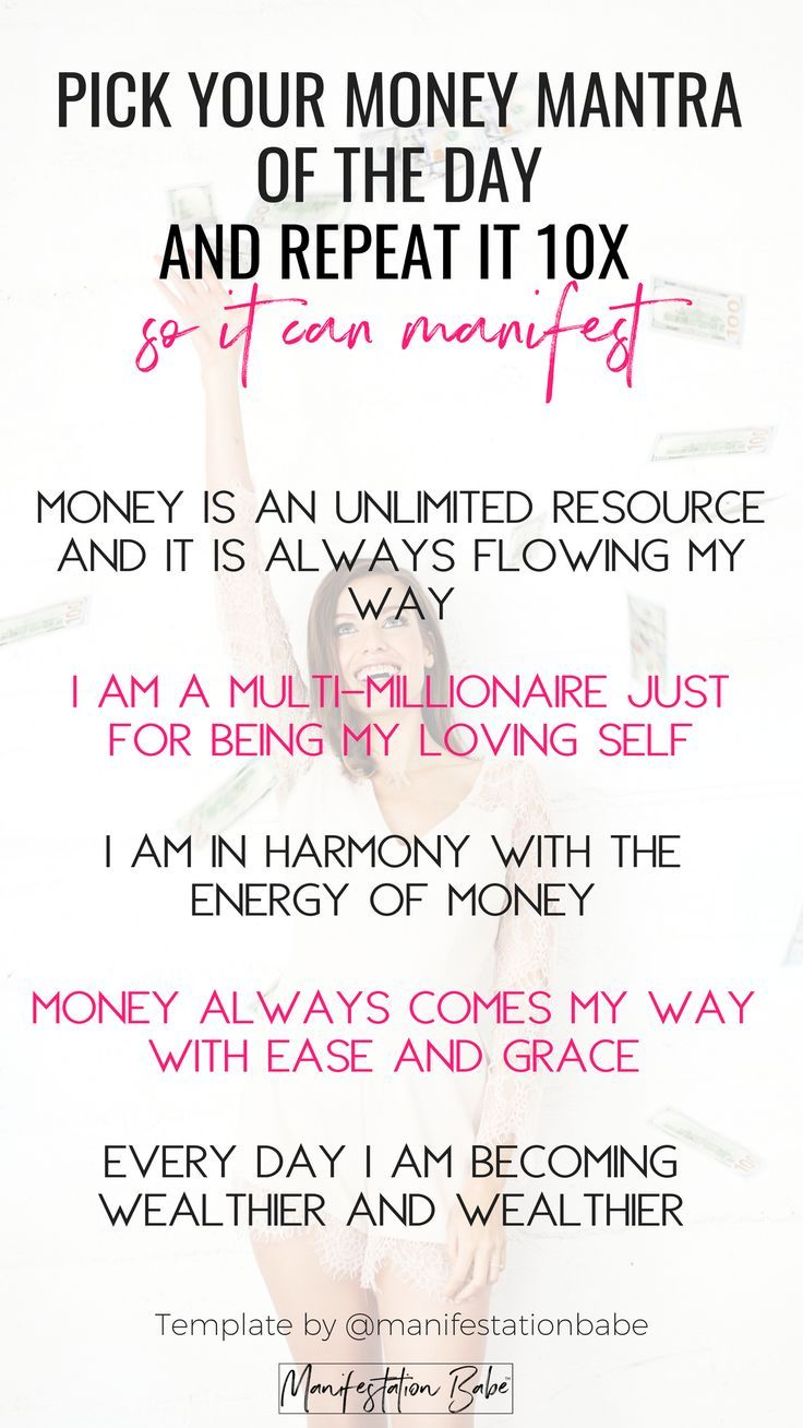 Money Affirmations – #Affirmations #hoes #Money