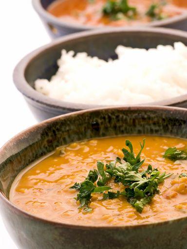 Soupe Dhal adaptée (indien)