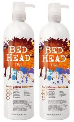Favorite Shampoo/conditioner! TIGI Bed Head Colour Goddess! It's great with colored hair in brown/red tones. The best part it smells like buttercream frosting!!!
