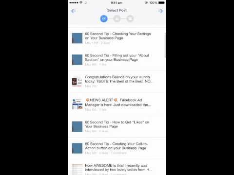 How to Us the New Facebook Adverts Manager App
