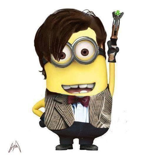 *ELEVENTH DOCTOR MINION ~ THEY SHOULD MAKE A STUFFED ANIMAL OF THIS I WOULD CRY