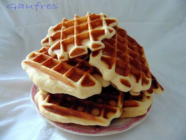GATEAU GAGA - Love cakes: Gaufres briochées