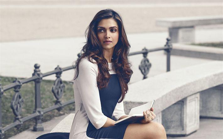 Download imagens Дипика Падуконе, modelo de moda, retrato, A atriz indiana, bollywood, mulher bonita
